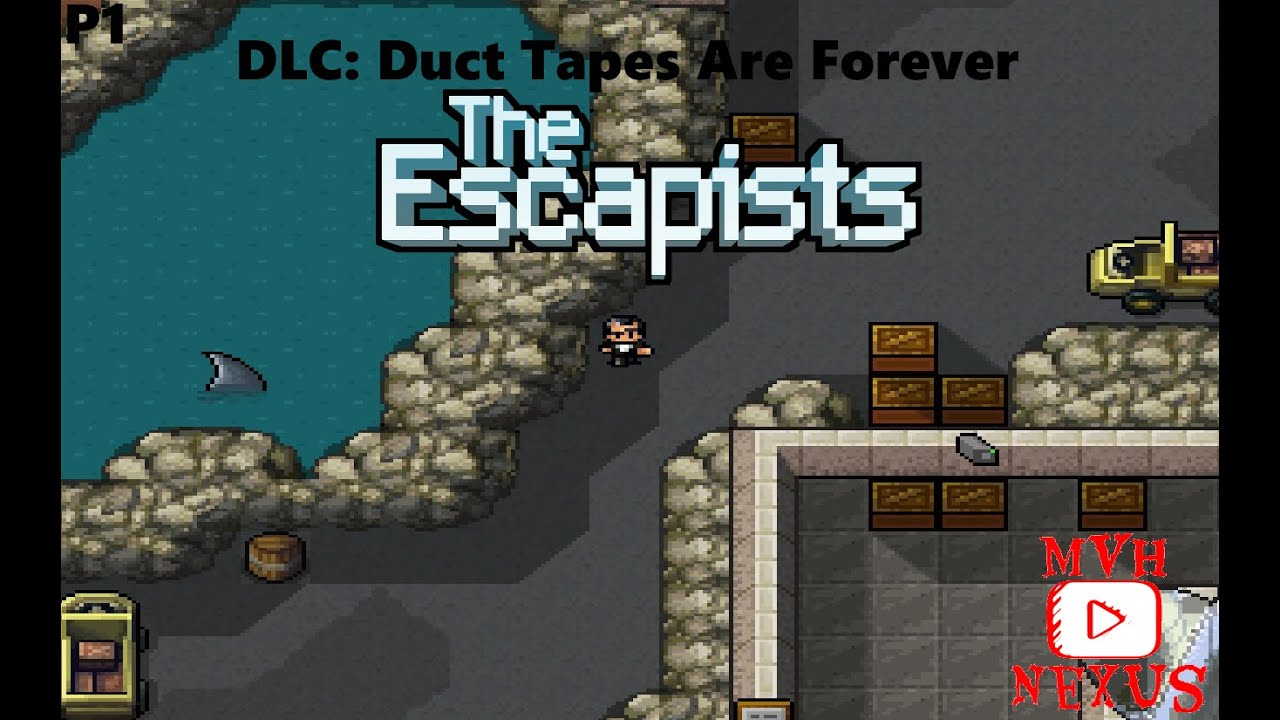 the escapists dlc duct tapes are forever part 01 youtube