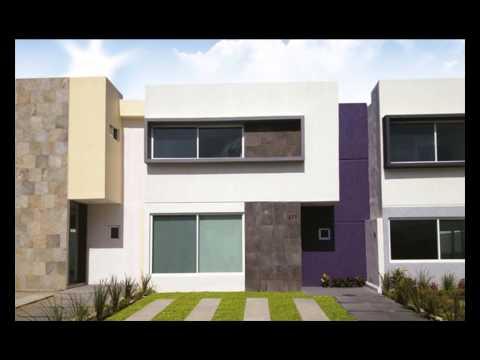 Fachadas de casas de dos pisos for Planos de casas de dos pisos sencillas