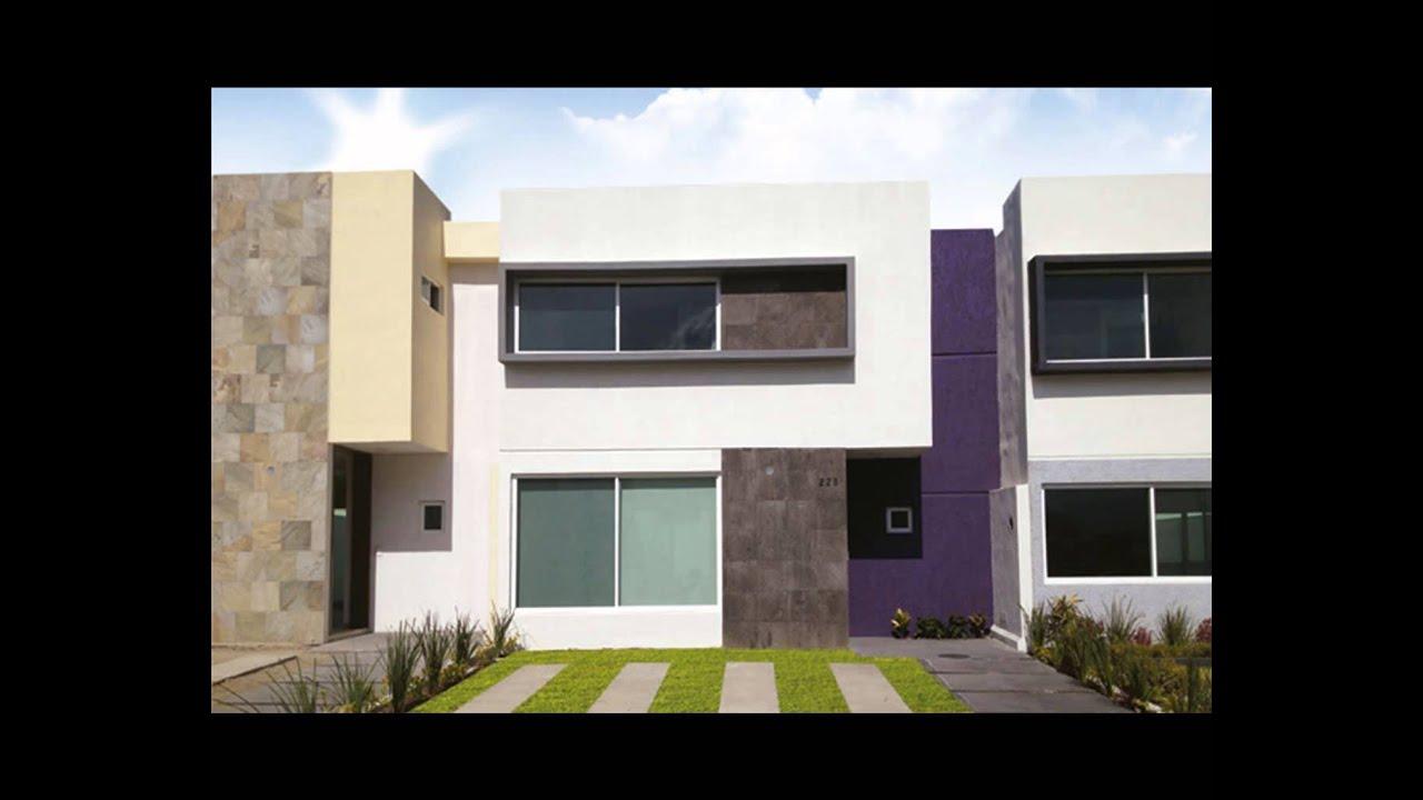 Fachadas de casas de dos pisos youtube Fachadas de casas modernas de dos pisos minimalistas