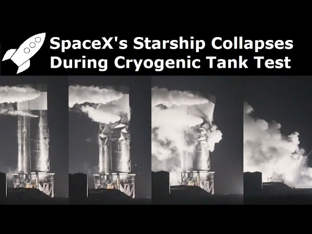 SpaceX's 4th Starship Prototype Collapses During Test