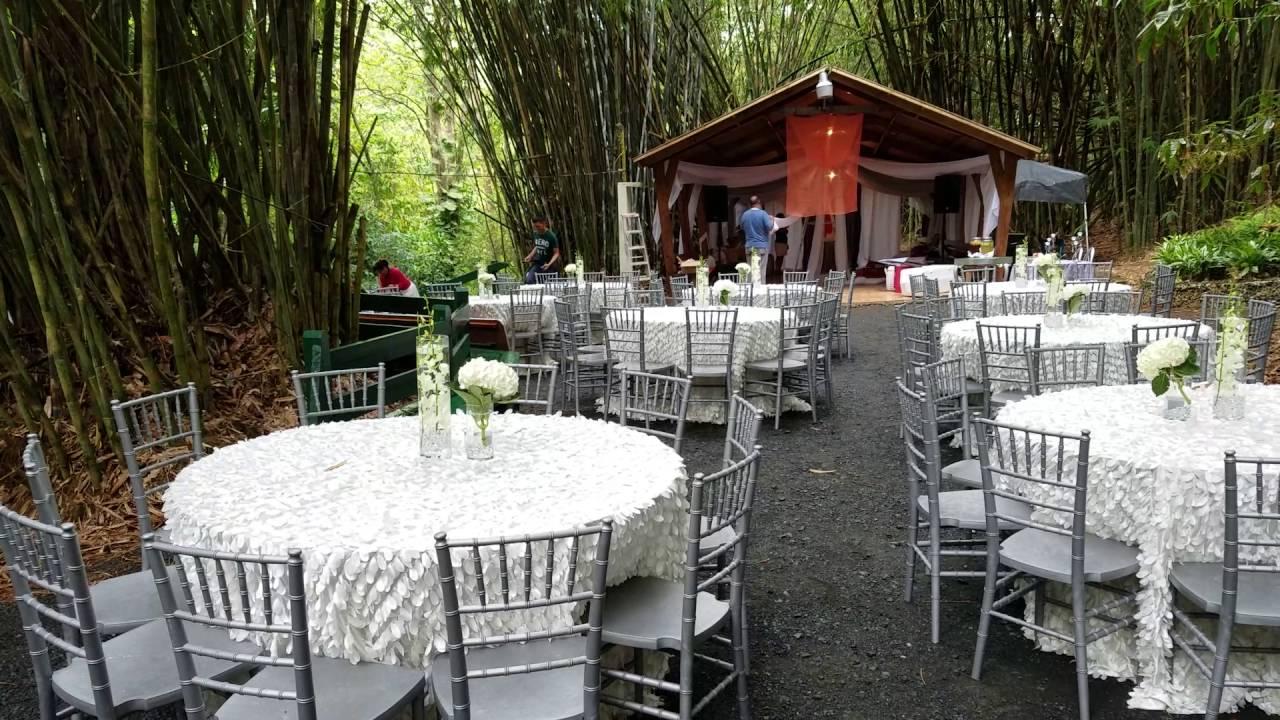 Boda en jardin finest restaurante el caseron un jardn for Bodas en el jardin botanico de rio piedras