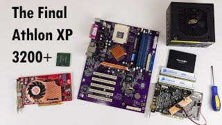 The Final Athlon XP 3200+ building a 2003 Retro Gaming PC