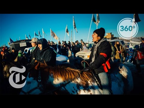 Standing Rock Celebrates Halted Pipeline | The Daily 360 | The New York Times