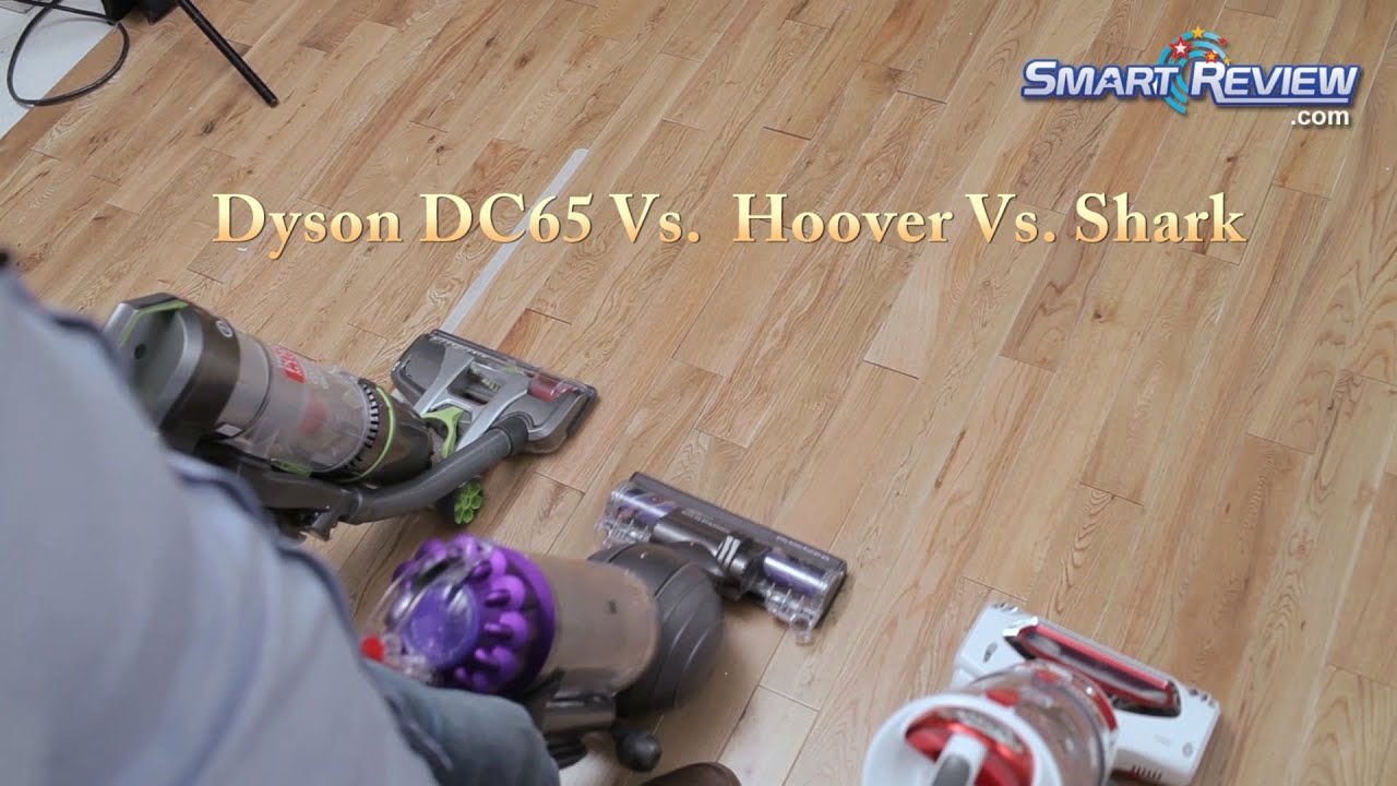 Dyson Demo | Dyson DC65 Animal Vacuum vs. Hoover Air Pro