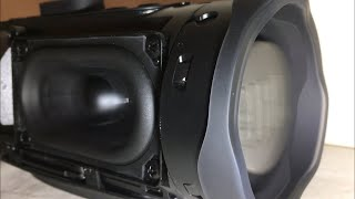 JBL Charge 4 Extreme Bass Test!! (Low Frequency Mode) (Without Grill)