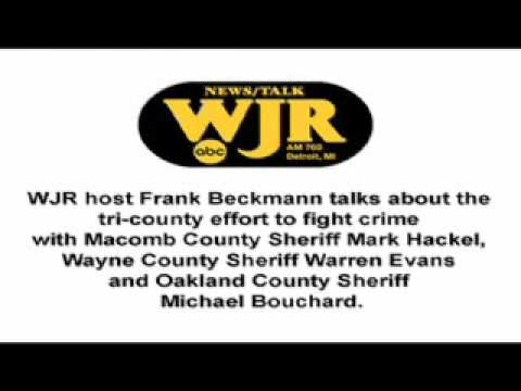 WJR Interview (Tri-County Effort to Fight Crime) - Macomb County Sheriff Mark Hackel