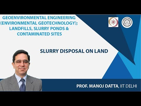 NPTEL :: Civil Engineering - NOC:Geoenvironmental