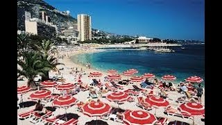 Пляж в Монако.