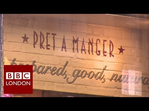 Pret changes food labelling - BBC London