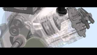 One Cylinder Four Stroke Engine - Solidworks