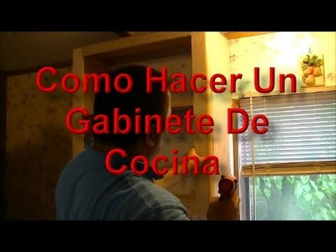 como hacer un gabinete de cocina facilmente youtube. Black Bedroom Furniture Sets. Home Design Ideas