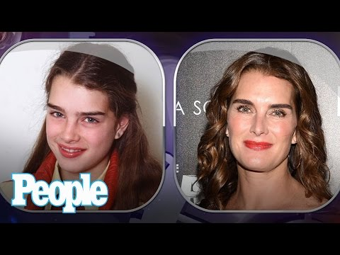 Brooke Shields' Evolution of Looks | Time Machine | PEOPLE