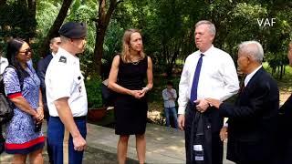 Phái đoàn Bộ Ngoại Giao Hoa Kỳ viếng Nghĩa Trang Quân Đội Biên Hòa