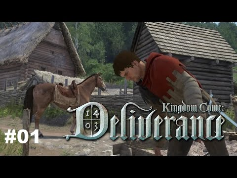 Kingdom Come: Deliverance - Deutsch Patch - Gameplay Deutsch #01