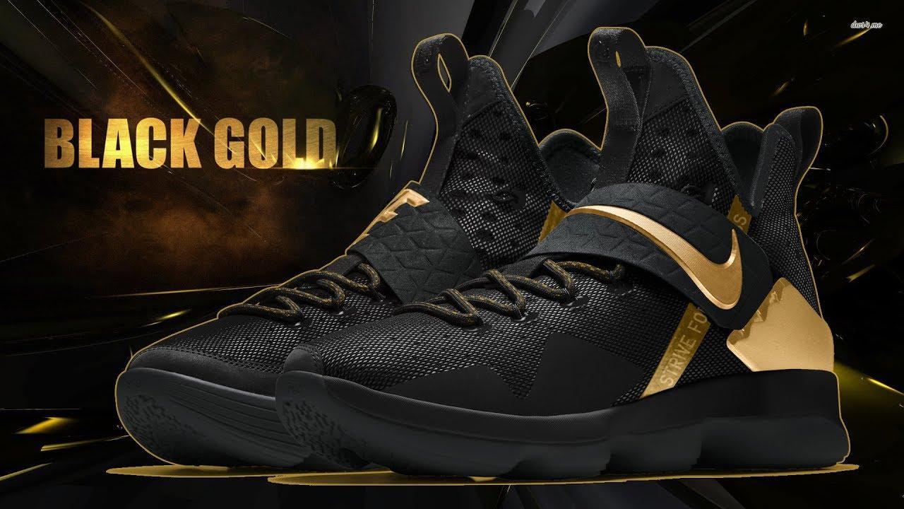promo code 32e14 1c9df discount nike lebron 14 gold brown 497fe 74061