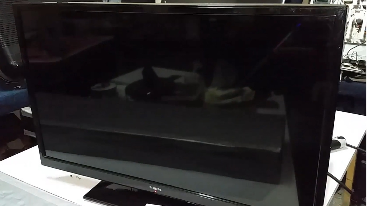 a823a06fe PHILIPS 32PFL3008H/12. LED TV. Repair. voice is. no picture on the screen.  - YouTube