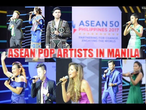ASEAN POP ARTISTS @ ASEAN 2017 MANILA CITY, PHILIPPINES / AUGUST 08, 2017