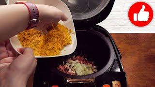 Срочно готовьте эту Вкуснятину Гениальный рецепт в мультиварке на обед или ужин Каша с тушёнкой
