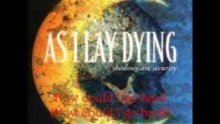 Watch As I Lay Dying Illusions video