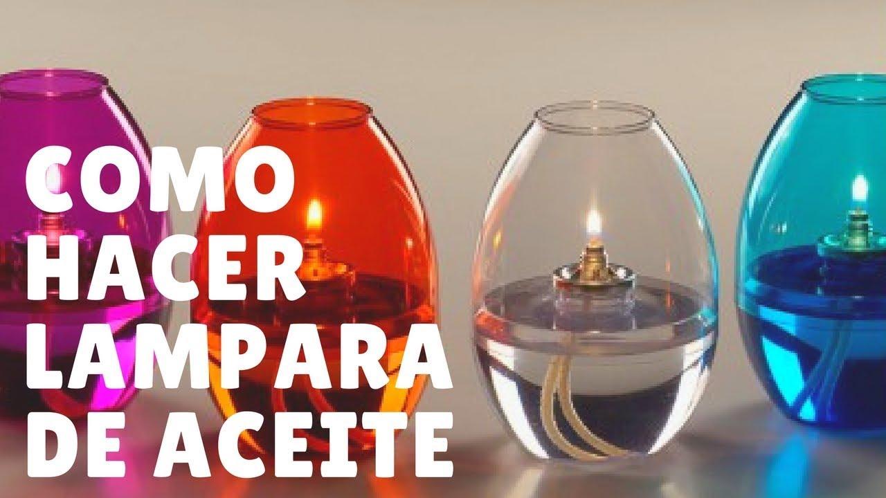 Convierte Cualquier Vela En Velas Artísticas Fácil Y Rápido Cómo Hacer Una Lámpara De Aceite Youtube