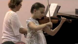 N. Baklanova: Mazurka; Lina Rogelj, violin
