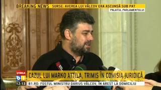 Marcel Ciolacu: Cazul lui Marko Attila ajunge în Comisia Juridică