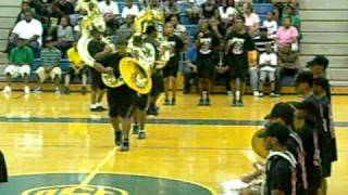 nansemond river marching band 2009 b o b at oscar smith 3