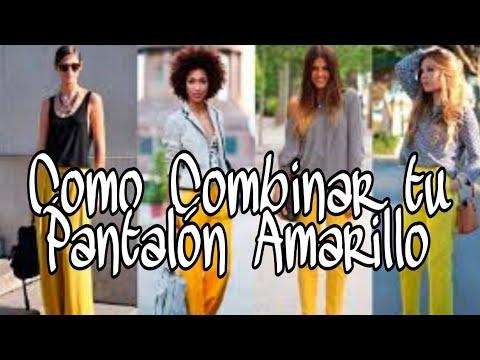 9 Combinar Amarillo Formas Que Un Pantalón vrrHqE