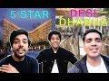 DESI DHABA V/S 5 STAR Ka Khana |  DEEPAK SHUBHAM PIYUSH VLOGS | DSP VLOGS