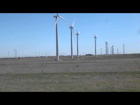 Wind Turbines in Sweetwater Texas.