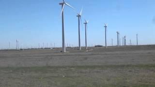 Wind Turbines in Sweetwater Texas.