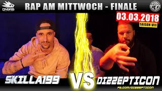 RAP AM MITTWOCH STUTTGART: SKILLA199 vs DIZZEPTICON 03.03.18 BattleMania Finale (4/4) GERMAN BATTLE