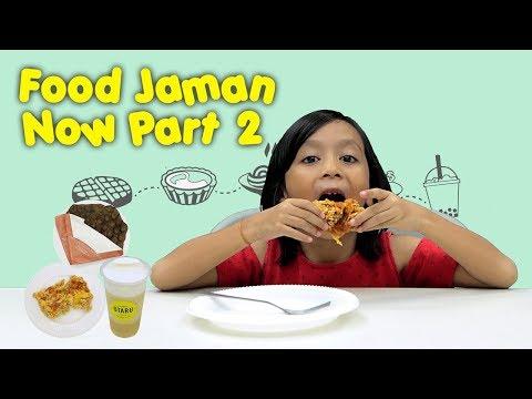 KATA BOCAH tentang Cheese Tart, Chizza, Cheese Tea (Food Jaman Now Part 2) | #23