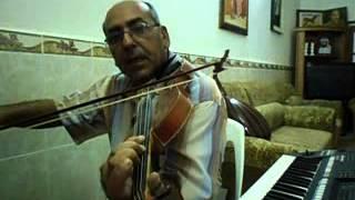 دورة تعليم الكمان الدرس السادس