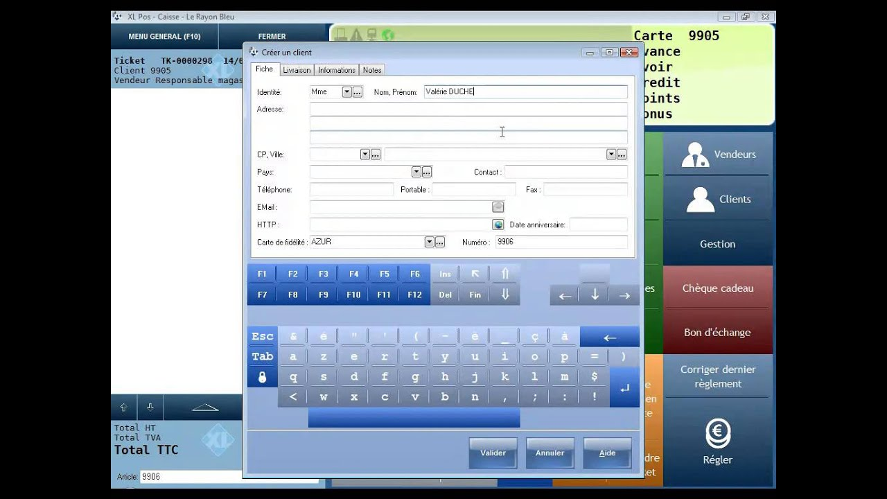 logiciel de caisse et de gestion de magasins point de vente de progmag