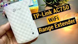 TP-LINK RE200 AC750 Wi-Fi Range Extender Review and Setup in Hindi
