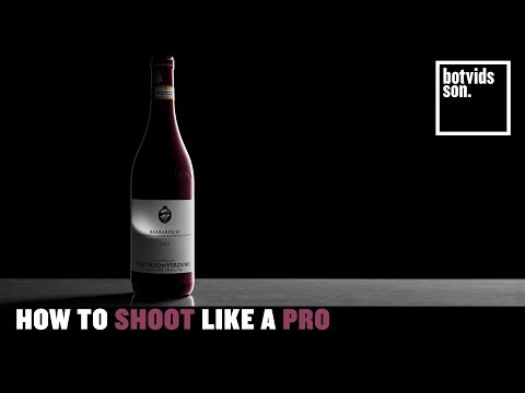 How to Shoot a Wine Bottle Like a Pro