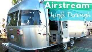 Minimalist Living in an Airstream | 2011 25ft International Serenity Airstream Walk Through