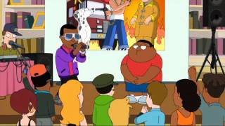 The Cleveland Show Kenny West vs Cleveland Brown Jr