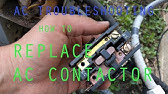 Fix Your Own Air Conditioner: Replace a Contactor - YouTube S Qa K Wiring Diagram Copeland on