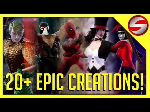 20+ EPIC COMIC BOOK CREATIONS IN SOULCALIBUR VI |