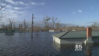 STORM COVERAGE:  Tracy Residents On Levee Patrol To Look For Breaches