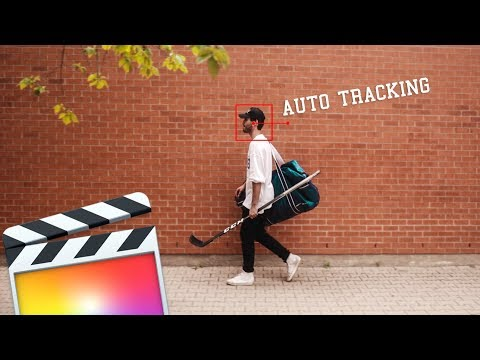 Auto-tracking In Final Cut Pro X Without Keyframes! | Tutorial
