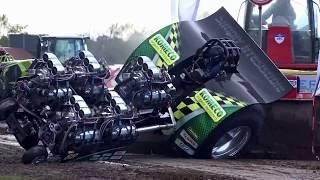 #1 - Мощьные Трактора на соревнованиях! Видео приколы с тракторами.