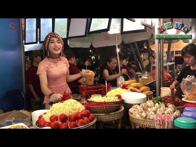 Đây là cách mà họ bán cả trăm ký gỏi Thái mỗi đêm