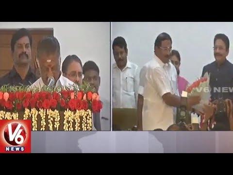 Panneerselvam Takes Oath As Deputy Chief...