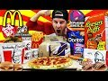 Gambar cover THE ULTIMATE AMERICAN FAST FOOD CHEAT DAY 30,000+ CALORIES