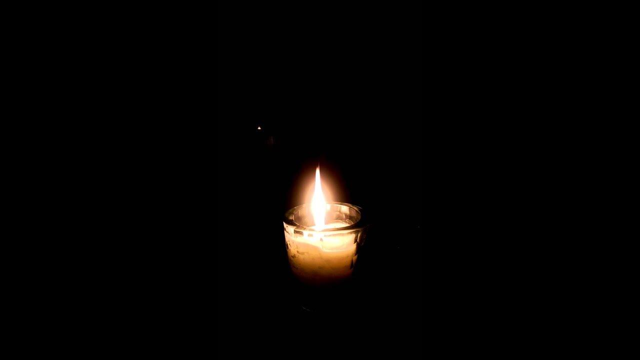 Dancing Candle Flame - YouTube