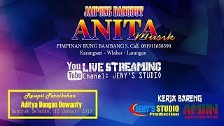 LIVE STREAMING ANITA MUSIK // JENY'S STUDIO // BUNTRAK SELATAN, 12 JANUARI 2019
