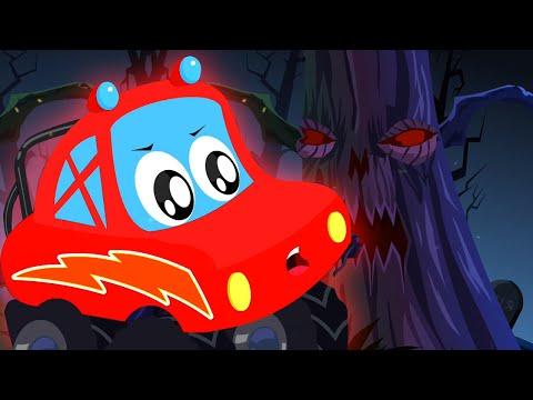 хэллоуин дерево | развивающий мультфильм | потешки | Little Red Car Russia | детские песни